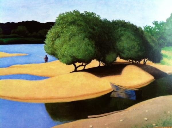 Félix Vallotton (1865-1925) Des sables au bord de la Loire